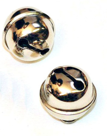 Metalen belletje - 15mm Rond