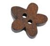 Houten Mini knoopje - 45mm