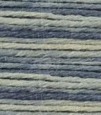Merino HD - 306 Gemeleerd Blauw / Ecru