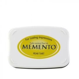 Memento 15. PEAR TART