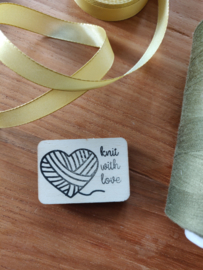 Stempel Knit with love