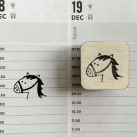Stempel mini - paard