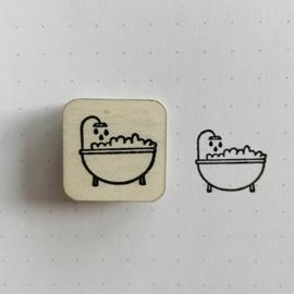 Stempel mini - bad (badkamer)