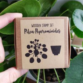 StempelSET pannenkoekenplant