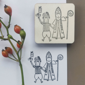 Stempel Sint en Piet