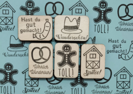 SET beloningsstempels  Duits