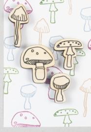 StempelSET paddenstoelen