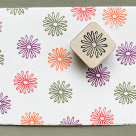 Stempel mini - bloempje