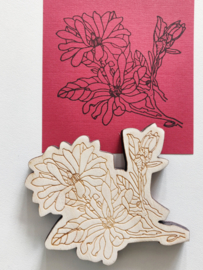 Stempel bloem 5