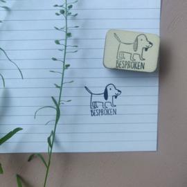Stempel hond - besproken