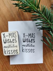 Stempel wishes kisses