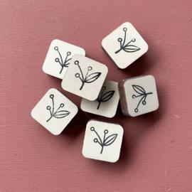 Stempel mini - botanisch 2