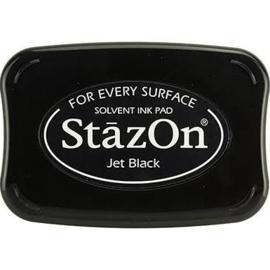 Stempelinkt Stazon groot Jet Black
