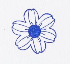 VersaFine CLAIRE 14. Blue belle