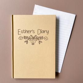 Persoonlijk notitieboek / dagboek