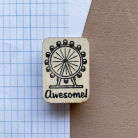 Stempel Engels - Awesome!