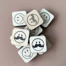 Stempel mini - smiley 10