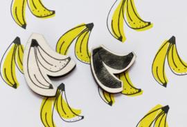 Stempel banaan 2 delen
