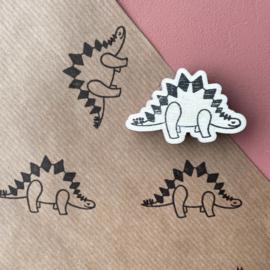 Stempel dino - stegosaurus