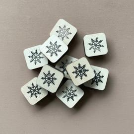 Stempel mini - sneeuwvlok