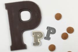 Stempel - Chocoladeletter P