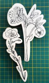Stempel bloem 1