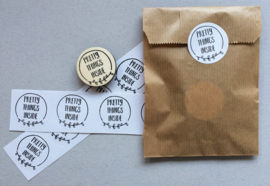 Stempel pretty things inside