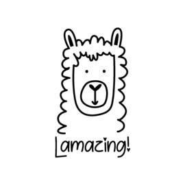 Stempel - lama 'Lamazing!'