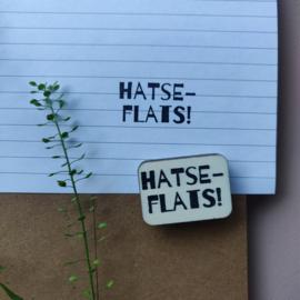 Stempel HATSEFLATS!