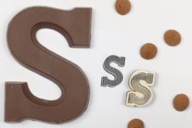 Stempel - Chocoladeletter S