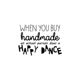 Stempel HiH - 'happy dance'