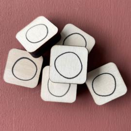 Stempel mini - confetti lijn