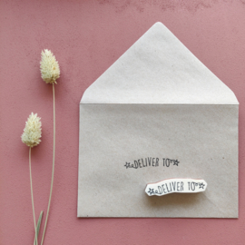 Stempel deliver to