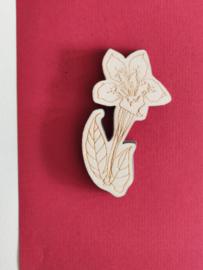 Stempel bloem 7