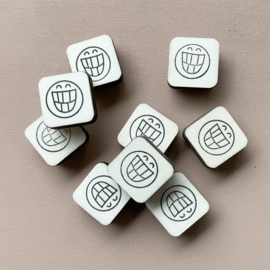 Stempel mini - smiley 2