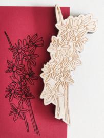 Stempel bloem 6