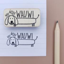 Stempel Wauw! (hond)