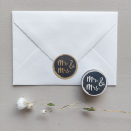 Stempel Mr. & Mrs.