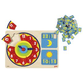 Klok puzzel Goki