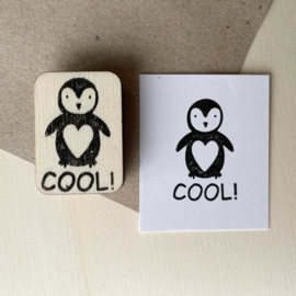 Stempel pinguin - cool!