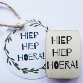 Stempel HiepHiepHoera!