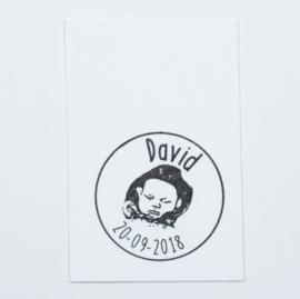 Geboortestempel David