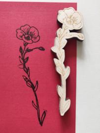Stempel bloem 2