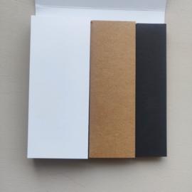 Labelblok 3 kleuren