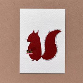 Kaart eekhoorn