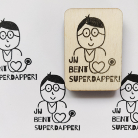 Stempel Superdapper!