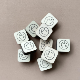 Stempel mini - smiley 1