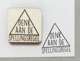 Stempel spellingsregel