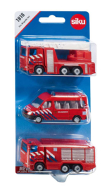Set brandweerwagens SIKU