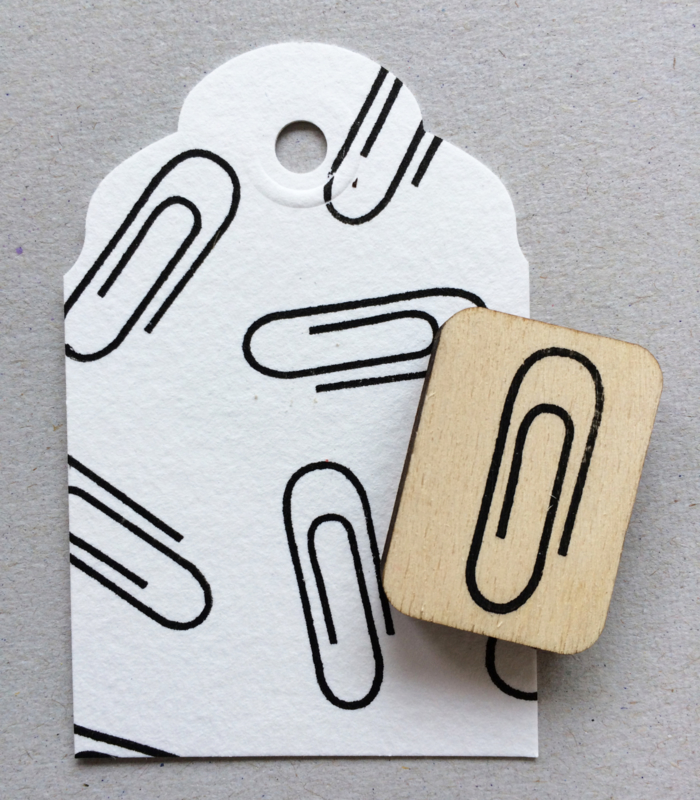 Stempel 'paperclip'